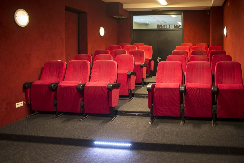 Bioscoopje in groepshuis Seven Hills