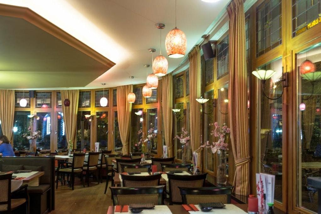 Eten bij Restaurant Konbanwa in Heilig Landstichting