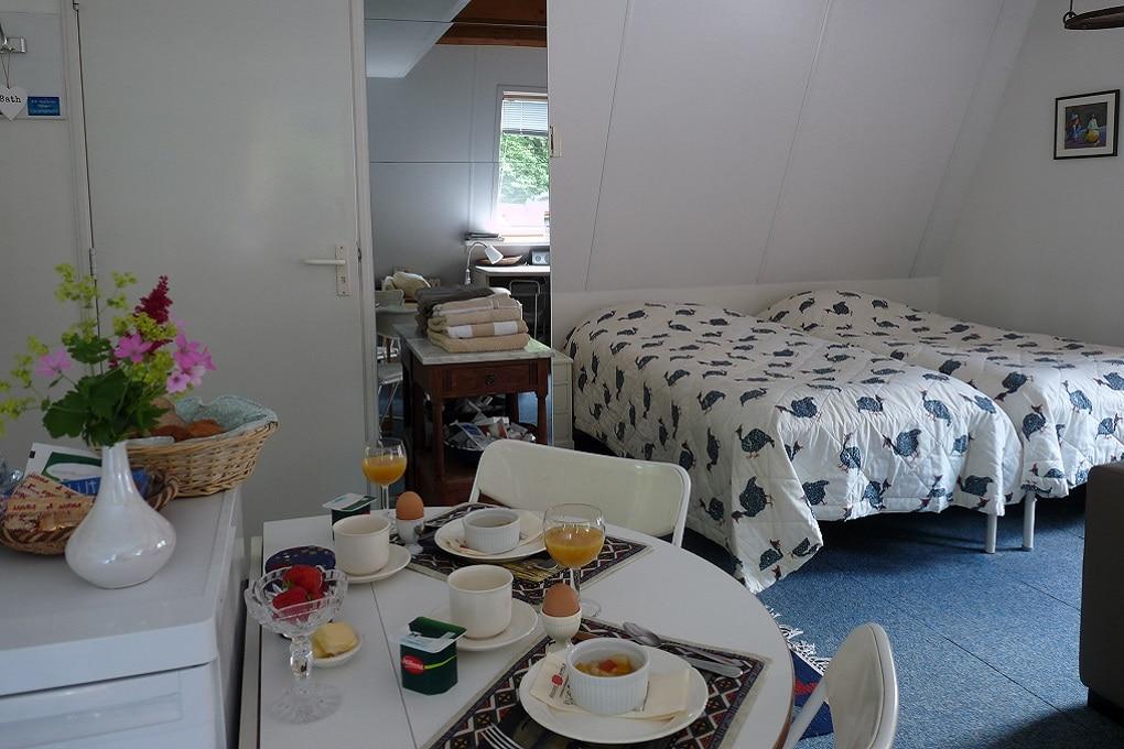 Gastenkamer B&B Ivy Cottage in Berg en Dal (nabij Nijmegen)