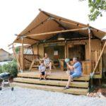 Glamping bij Camping de Oude Molen in Groesbeek