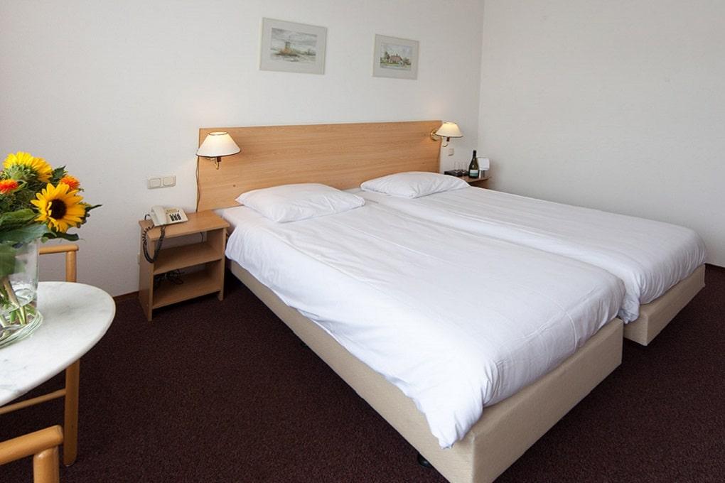 Hotelkamer van Hotel De Gelderse Poort nabij Nijmegen