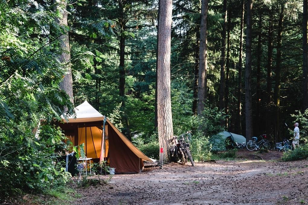Kamperen in het bos, Groesbeek
