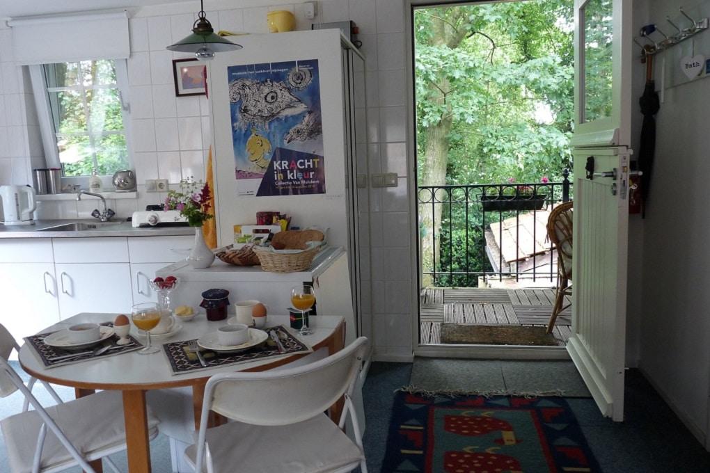 Keuken BenB Ivy Cottage bij Nijmegen