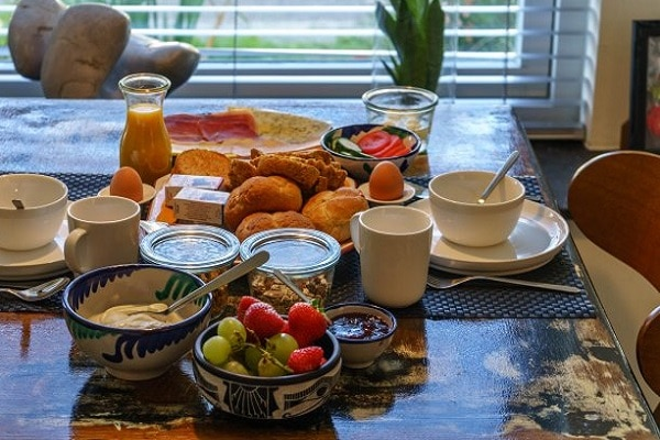 Ontbijt bij B&B Eerste Heuvel