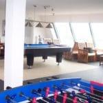 Pooltafel en tafelvoetbal bij Het Uitzicht in Groesbeek
