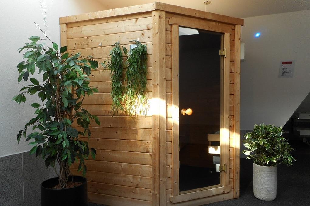 Sauna in groepsaccommodatie Het Uitzicht, Groesbeek