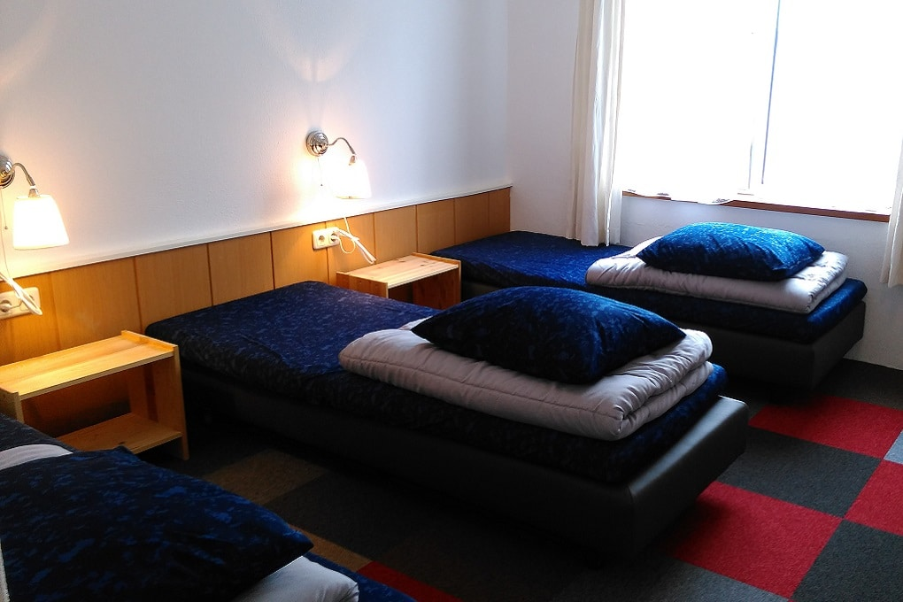 Slaapkamer bij Millers Home, Groesbeek
