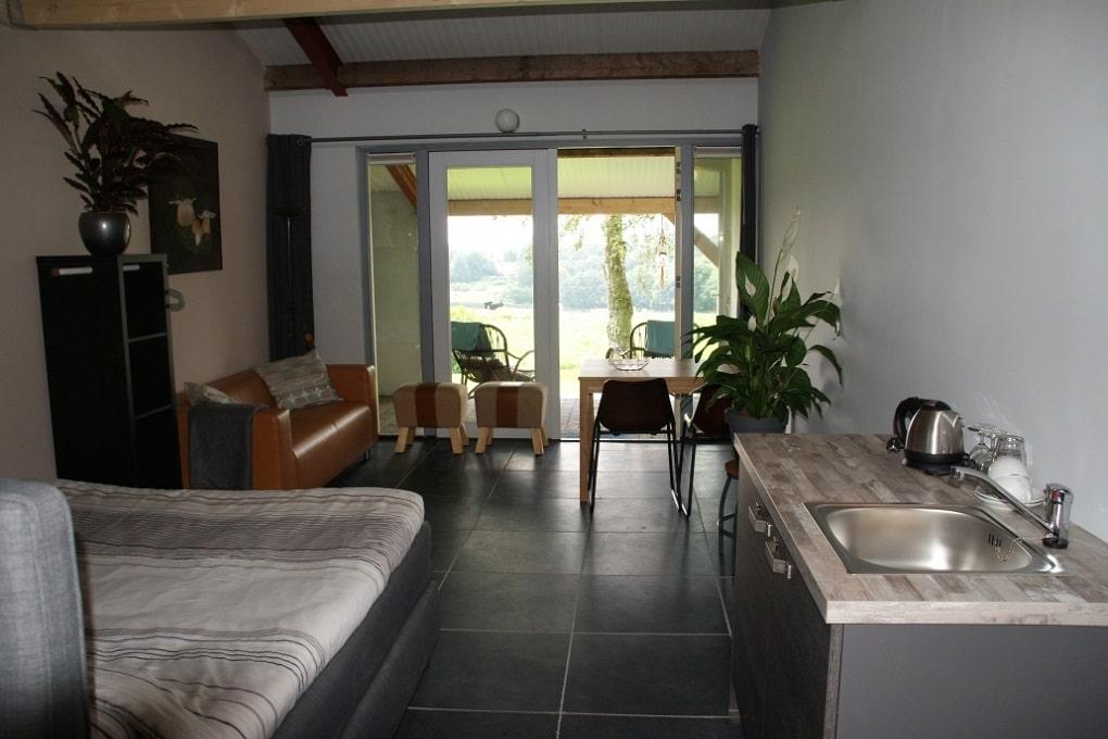 Studio kamers bij het Balkon van Groesbeek