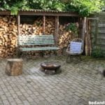 Tuin met vuurkorf, Het Paard van Ooije B&B