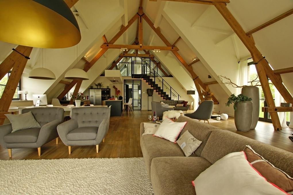Vakantiehuis voor 6 - 8 personen bij Nijmegen