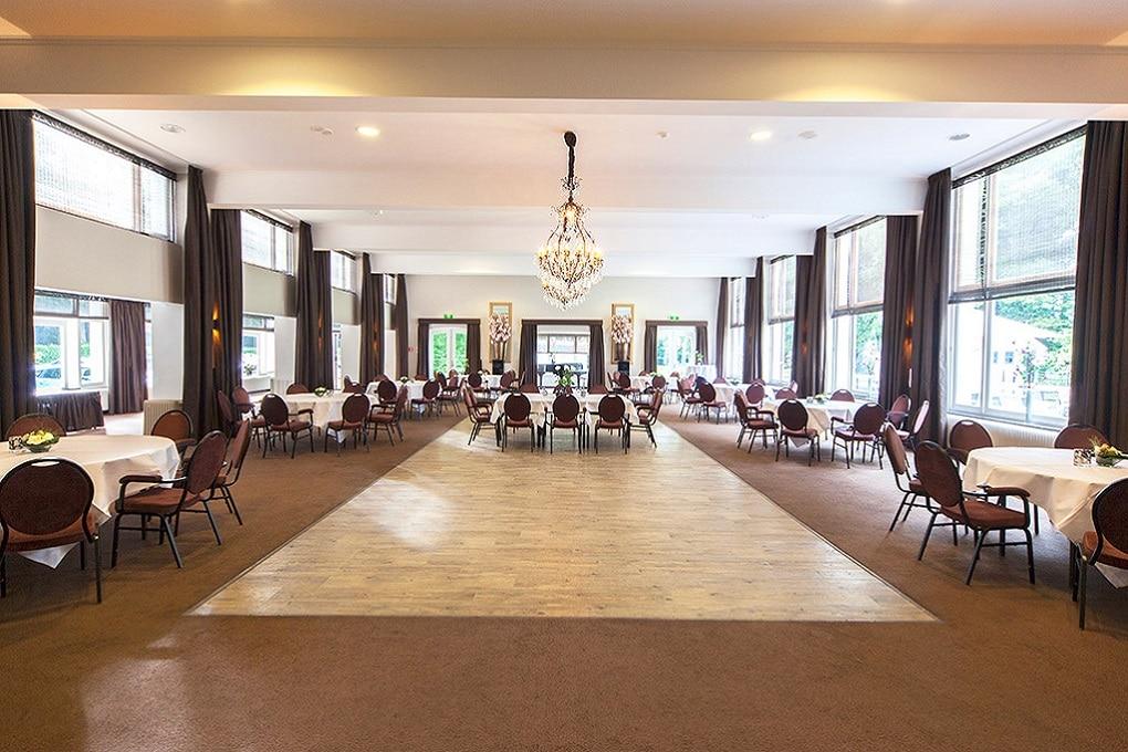 Zalen bij Hotel Erica nabij Nijmegen