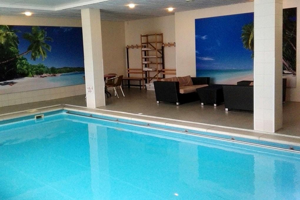 Zwembad van Hotel Val Monte bij Nijmegen